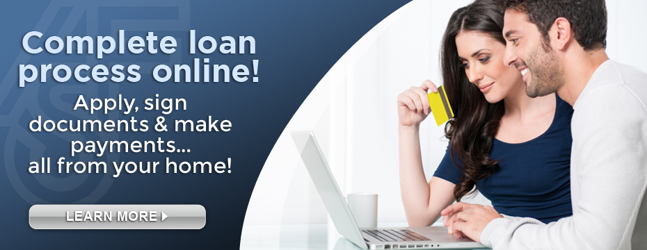 complete loan process online